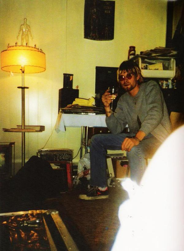 Kurt with wine glass.